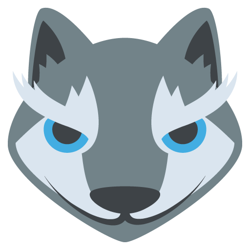 Animal Face Wolf